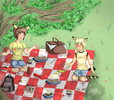 Summer Picnic by Neon-Fizz