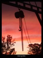 Sunset in chains by slsovs