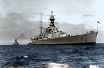 HMS HOOD by RMS-OLYMPIC