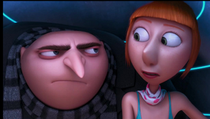 Gru and Lucy by NocturnalRavers