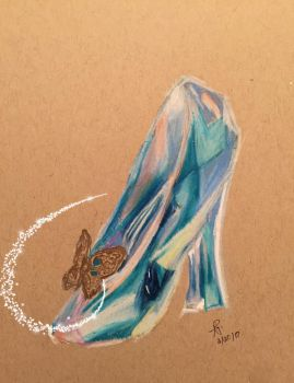 Cinderella's Glass Slipper by Doodl3Bug21