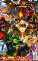 PEACEKEEPERS UNITED cover 2 by johnbecaro