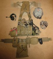 US Army SF - KIT LAYOUT by HaVoCMaN