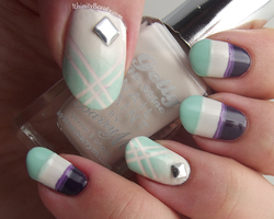 Purple And Mint by Ithfifi