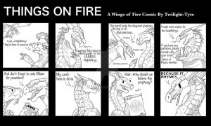 Things on Fire- The Prophecy by Twilight-Tyto