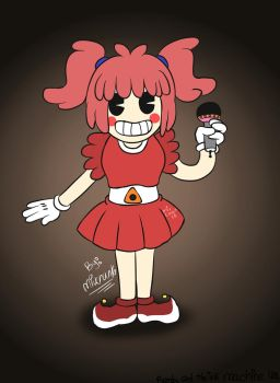 Circus Baby and the ink machine/ Sister Location by Miu-Chan16