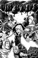 TAW cover, inks by VikThor