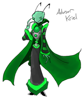 Concept Art: Adviser Kriel by SkooIsCoo