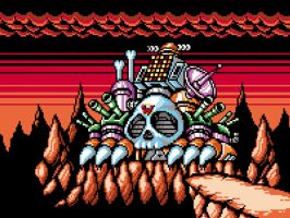 Wily Castle 3 Gameboy by abonny