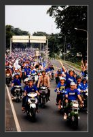 Viking Persib Club Convoy.. by popalogic