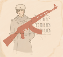 APH: The Soldier by archaicacid