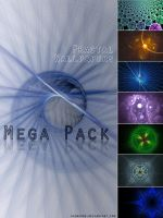 Mega Pack 7 Fractal Wallpapers by shinzooo