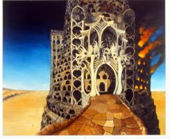 The Tower of Babel by jeriah