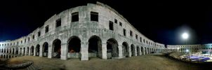 PULA ARENA AT NIGHT by w34a