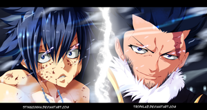 Fairy Tail 386-Gray and Silver by TropKlaz