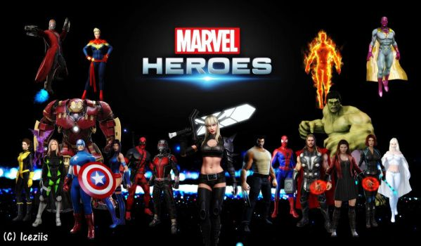 Marvel Heroes 2015 by icequeen654123