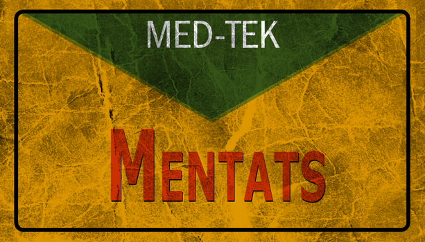 fallout 3 Mentats label by Bl00dpainter