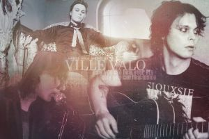Ville Valo Banner No. 6 by Maggiesgirl