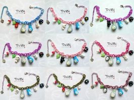 Limited Edition - Totoro bracelets by tivibi
