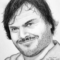 Jack Black by Doctor-Pencil