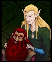 I Don't Trust Elvish Massages - Colored! by JadeWaters