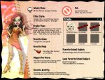Monster High - Template: Iolante by frisket17