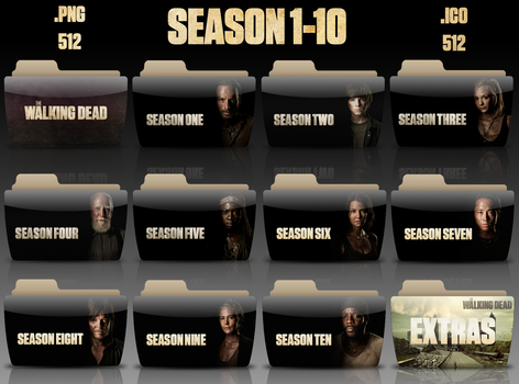 The Walking Dead Season 1-10 + Extras Rohith by rohithkumarsp