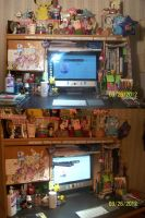 My Desk! by BlueRoseArkelle