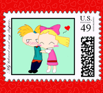 Love Stamp by SunsetArms