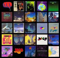 The Yes Albums by TeeStall
