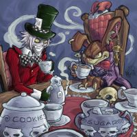 OC Mad Tea Party by MarcelPerez