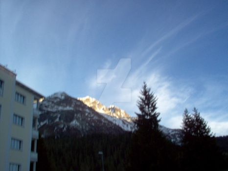 Sunrise on St.Moritz by Winters-Avatar