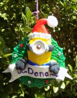 Minion2 Ornament by Kat-Skittychu