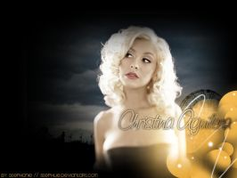 Christina Aguilera Wallpaper by Stephue