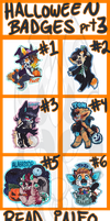 HALLOWEEN.BADGE.PRICES.PRT3::..+ by Uriko44