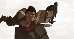 LoK episode 3 drawing by luvLegendofKorra