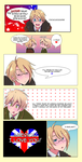 Hetalia: Drunk Kissing by muffin-mixer