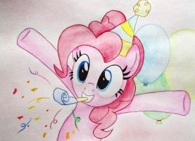 Party with Pinkie (A3) by 0okami-0ni