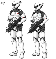 Imperial Guards of Norodor by Shabazik