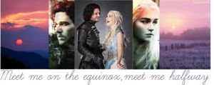 Jon and Daenerys - Equinox by SquigglyButterfly