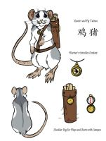 Nautical Rat by MoonsongWolf