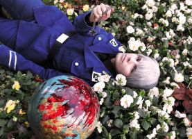 Falling world [APH Prussia] by Milukyo