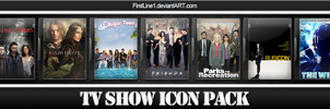 TV Show Icon Pack 6 by FirstLine1