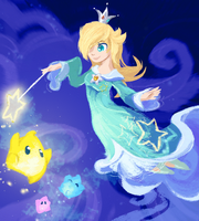 Princess Rosalina by Bedupolker