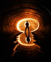 Tunnel Spin by 5isalive