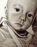Portrait of a child, closeup by jane-beata