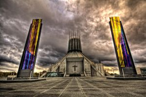 Metropolitan Cathedral Back by CharmingPhotography