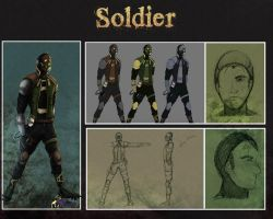 Solider Concept by HatterMadness