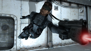 Solid Snake by James--C