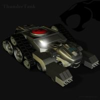 ThunderCat Chronicles: Tank 2 by blackzig
